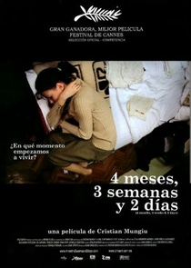 4 Meses, 3 Semanas e 2 Dias - Poster / Capa / Cartaz - Oficial 5