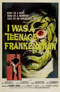I Was a Teenage Frankenstein - Poster / Capa / Cartaz - Oficial 1