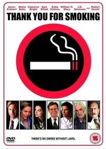 Obrigado por Fumar - Poster / Capa / Cartaz - Oficial 9