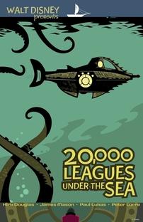 20.000 Léguas Submarinas - Poster / Capa / Cartaz - Oficial 7