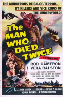 The Man Who Died Twice - Poster / Capa / Cartaz - Oficial 1