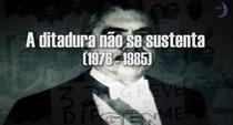 A ditadura não se sustenta (1976-1985) - Poster / Capa / Cartaz - Oficial 1
