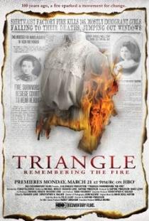 Triangle: Lembranças do Incêndio - Poster / Capa / Cartaz - Oficial 1