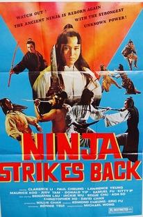 The Ninja Strikes Back - Poster / Capa / Cartaz - Oficial 7