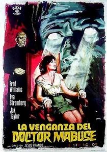 La Venganza del Doctor Mabuse - Poster / Capa / Cartaz - Oficial 1