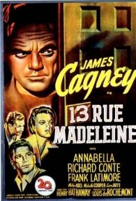 Rua Madeleine 13 - Poster / Capa / Cartaz - Oficial 1