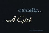 Naturally... a Girl - Poster / Capa / Cartaz - Oficial 1