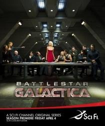 Battlestar Galactica (4ª Temporada) - Poster / Capa / Cartaz - Oficial 1