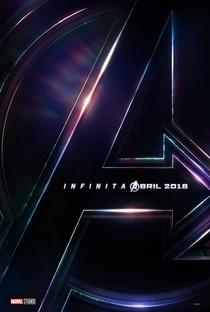Vingadores: Guerra Infinita - Poster / Capa / Cartaz - Oficial 4