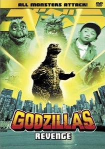A Vingança de Godzilla - Poster / Capa / Cartaz - Oficial 2