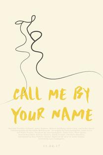 Me Chame Pelo Seu Nome - Poster / Capa / Cartaz - Oficial 19