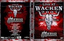 Saxon [DVD Wacken 2007] - Poster / Capa / Cartaz - Oficial 1