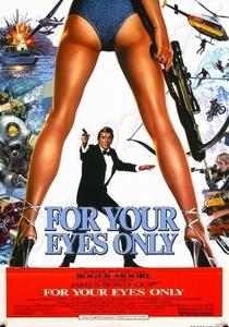 007 - Somente Para Seus Olhos - Poster / Capa / Cartaz - Oficial 4