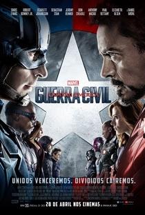Capitão América: Guerra Civil - Poster / Capa / Cartaz - Oficial 6