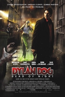 Dylan Dog e as Criaturas da Noite - Poster / Capa / Cartaz - Oficial 2