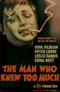 O Homem Que Sabia Demais - Poster / Capa / Cartaz - Oficial 1