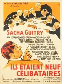 Eram Nove Solteirões - Poster / Capa / Cartaz - Oficial 2