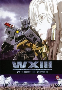 WXIII: Patlabor the Movie 3 - Poster / Capa / Cartaz - Oficial 1