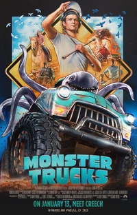 Monster Trucks - Poster / Capa / Cartaz - Oficial 1