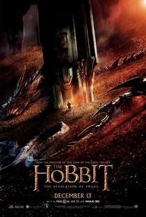 O Hobbit: A Desolação de Smaug - Poster / Capa / Cartaz - Oficial 1