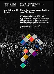 Pet Shop Boys - Pandemonium Tour - Poster / Capa / Cartaz - Oficial 1