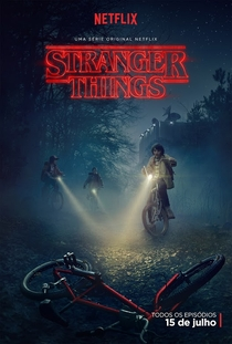 Stranger Things (1ª Temporada) - Poster / Capa / Cartaz - Oficial 2
