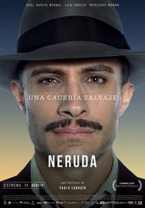 Neruda - Poster / Capa / Cartaz - Oficial 4