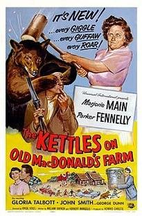 The Kettles on Old MacDonald's Farm - Poster / Capa / Cartaz - Oficial 1