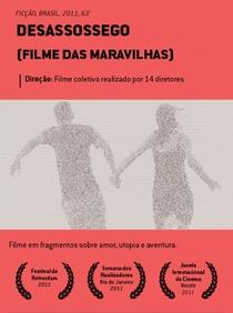 Desassossego (Filme das Maravilhas) - Poster / Capa / Cartaz - Oficial 1