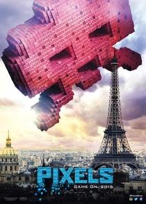 Pixels: O Filme - Poster / Capa / Cartaz - Oficial 4