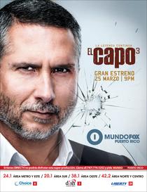 El Capo (3ª Temporada) - Poster / Capa / Cartaz - Oficial 3