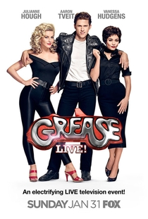 Grease: Ao Vivo - Poster / Capa / Cartaz - Oficial 1