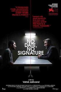 Sem Data, Sem Assinatura - Poster / Capa / Cartaz - Oficial 1