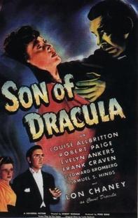 O Filho de Drácula - Poster / Capa / Cartaz - Oficial 1