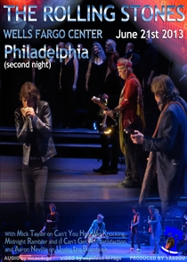 Rolling Stones - Philadelphia 2013 2nd Night - Poster / Capa / Cartaz - Oficial 1