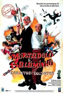 Mortadelo E Salaminho - Agentes Quase Secretos - Poster / Capa / Cartaz - Oficial 3