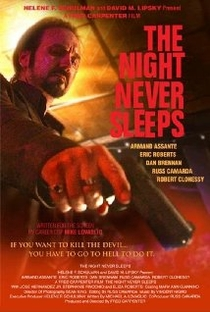 The Night Never Sleeps - Poster / Capa / Cartaz - Oficial 1
