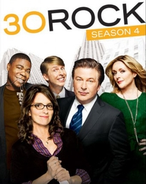 30 Rock (4ª Temporada) - Poster / Capa / Cartaz - Oficial 1