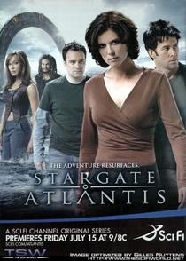 Stargate Atlantis (3ª Temp.) - Poster / Capa / Cartaz - Oficial 1