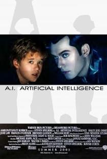 A.I. Inteligência Artificial - Poster / Capa / Cartaz - Oficial 6