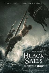Black Sails (2ª Temporada) - Poster / Capa / Cartaz - Oficial 1