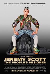 Jeremy Scott: O Designer do Povo - Poster / Capa / Cartaz - Oficial 1