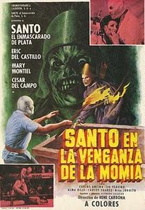 Santo e a Vingança da Múmia - Poster / Capa / Cartaz - Oficial 1