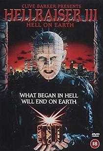 Hellraiser III - Inferno na Terra - Poster / Capa / Cartaz - Oficial 8