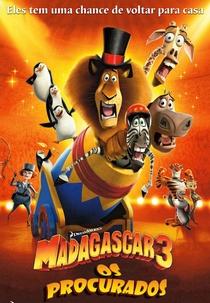 Madagascar 3: Os Procurados - Poster / Capa / Cartaz - Oficial 6