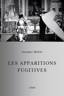 Les apparitions fugitives - Poster / Capa / Cartaz - Oficial 1