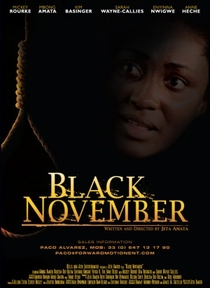 Black November - Poster / Capa / Cartaz - Oficial 1