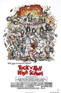 Rock 'N' Roll High School - Poster / Capa / Cartaz - Oficial 4