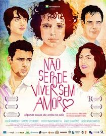 Não Se Pode Viver Sem Amor - Poster / Capa / Cartaz - Oficial 1