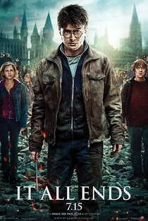 Harry Potter e as Relíquias da Morte - Parte 2 - Poster / Capa / Cartaz - Oficial 2
